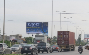 LYC advertisement In Vietnam
